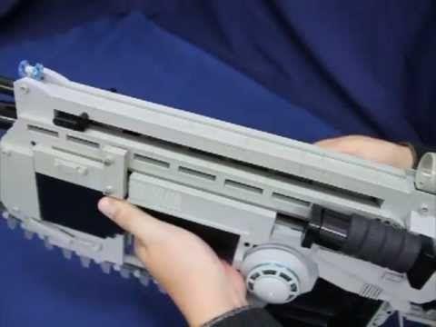 Crazy Gears of War LEGO Lancer Assault Rifle