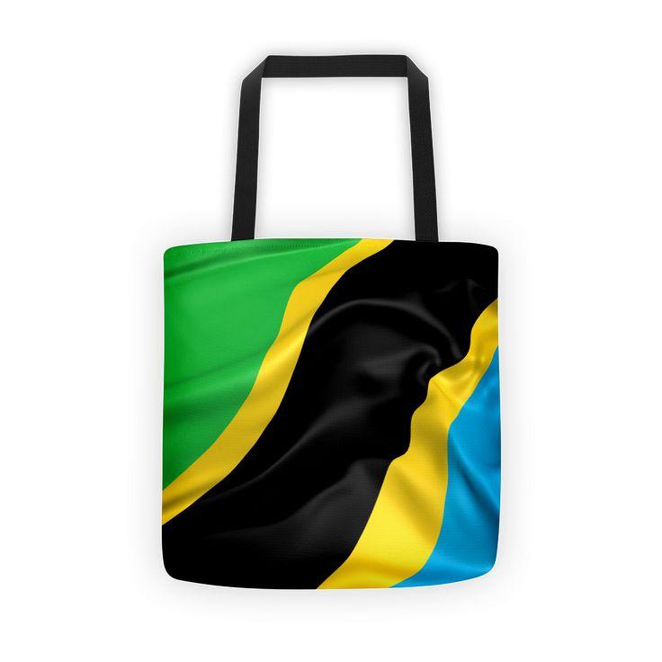Tanzania Flag Tote bag