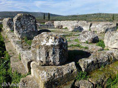 NAUPLIE, PELOPONNESE : MES ESCAPADES Temple d'Heracles, Archaies Kleones