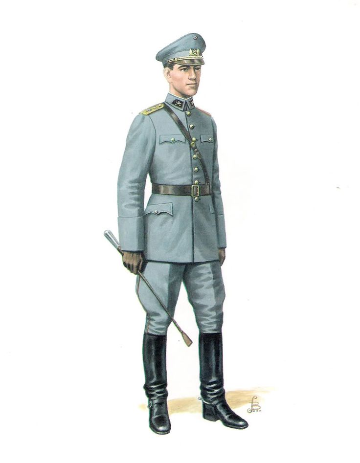 Chilean Army artillery officers' 1939 summer service uniform.
