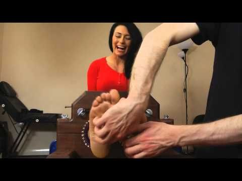 Kelly Carter Office Girl Tickled In The Double Stocks