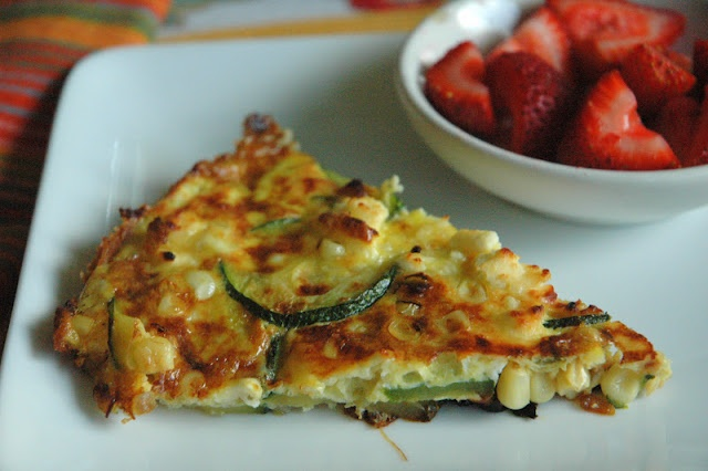 Spicy Zucchini Corn Frittata | Eating Well | Pinterest