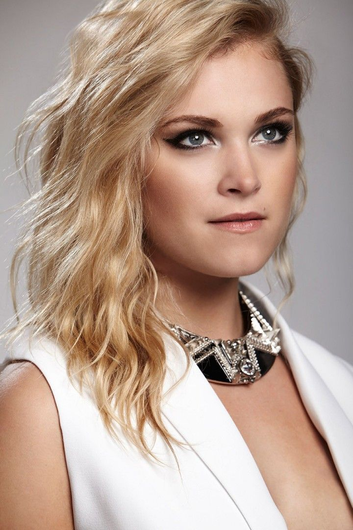 LOS ANGELES, CA - APRIL 15: Australian actress Eliza Taylor is photographed for Bello on April 15, 2014 in Los Angeles, California. Description from gettyimages.com. I searched for this on bing.com/images