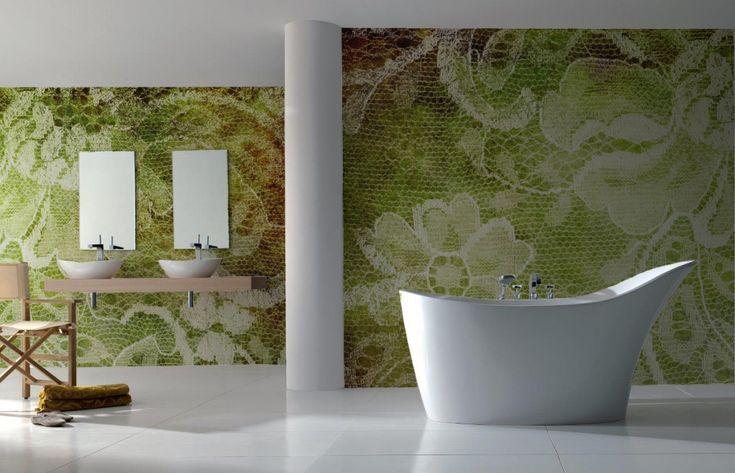 badkamerbehang van Sterk-design