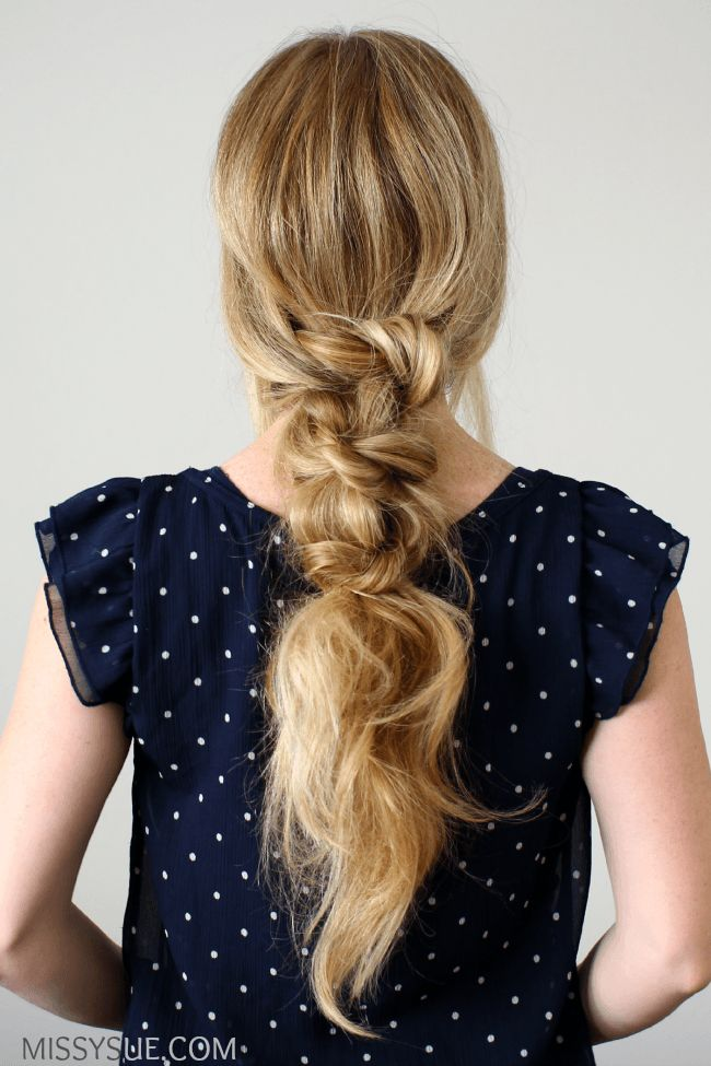 Knotted Low Pony