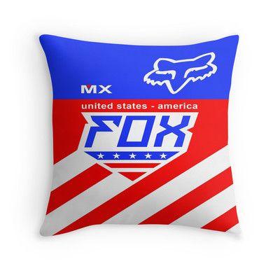 Mxon Team usa throw pillow