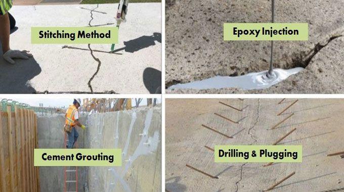 Methods Of Repairing Cracks In Concrete In 2020 Repair Cracked Concrete Concrete Repair