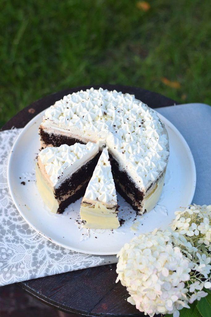 Schoko Creme Karamell Kuchen - Chocolate Caramel Cake   Das Knusperstübchen