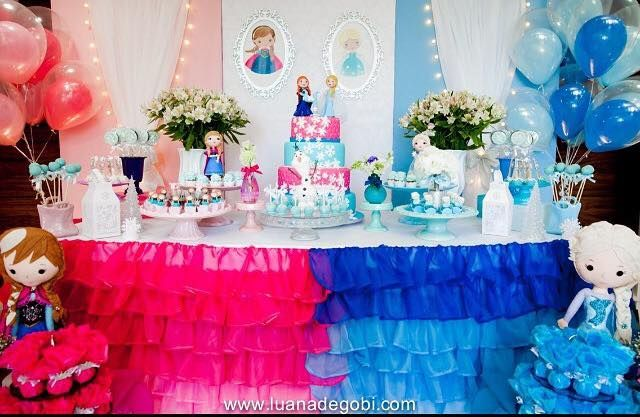 Pin em Festas Frozen Frozen Party