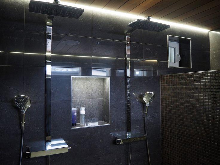 Kylpyhuone kohteessa Lakeuden Jämerä Kutsu, Asuntomessut 2016 Seinäjoki…