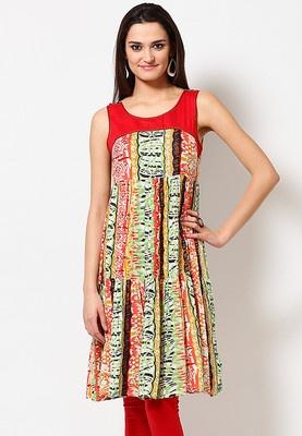 Cotton Embroidered Multi Kurta #MyYDHDLook
