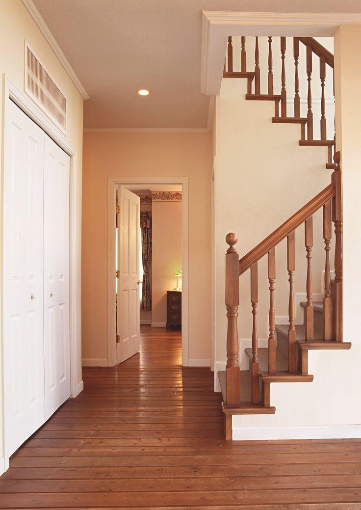 Energy efficient underfloor heating.