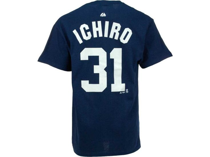 0f731b4ae ... New York Yankees Ichiro Suzuki Majestic MLB Mens Player T-Shirt ...