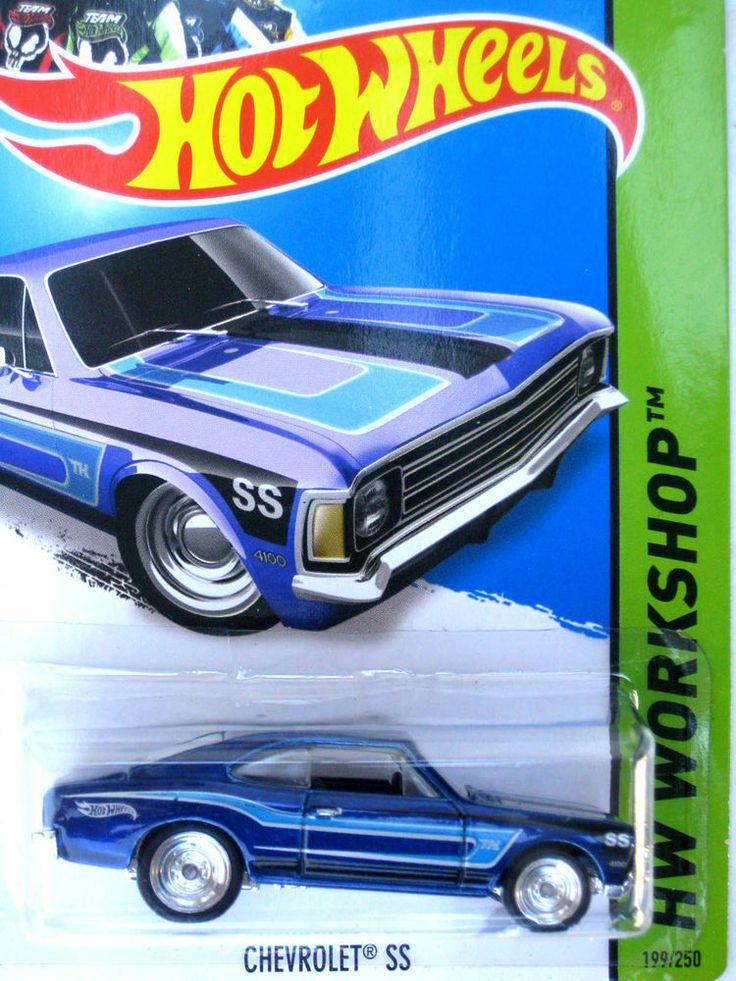 Hot Wheels 2014 Super Treasure Hunt CHEVROLET SS   2014 ...