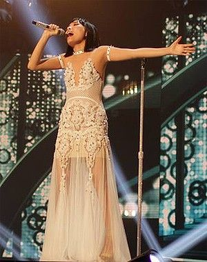 Dami Im on The X Factor.