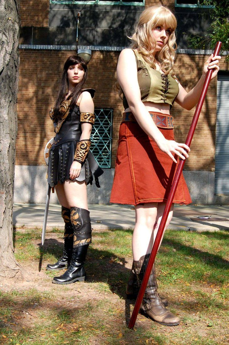54 best xena and gabrielle hercules cosplay images on pinterest my best friend shar vakarian dressed as gabrielle in the costume i made for her for this years nycc and me in my completed xena costume xena and gabrielle solutioingenieria Image collections