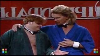 Chris Farley and Patrick Swayze-----Chippendales