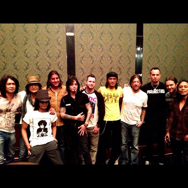 "Photo by rif_band ""with Creed in Indonesia!"""
