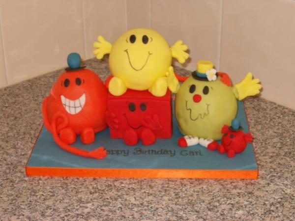 Best Little Miss Birthday Images On Pinterest Mr Men - Mr tickle birthday cake