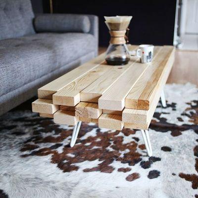Descubra os diferentes tipos de mesas que você pode fazer com pallets