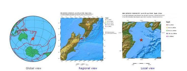Σεισμική δόνηση 6,6 Ρίχτερ στην πρωτεύουσα της Νέα Ζηλανδία