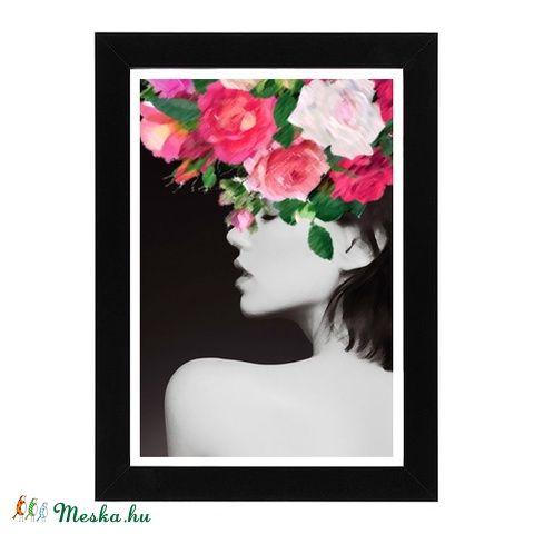Girl with the flower hat (niele) - Meska.hu