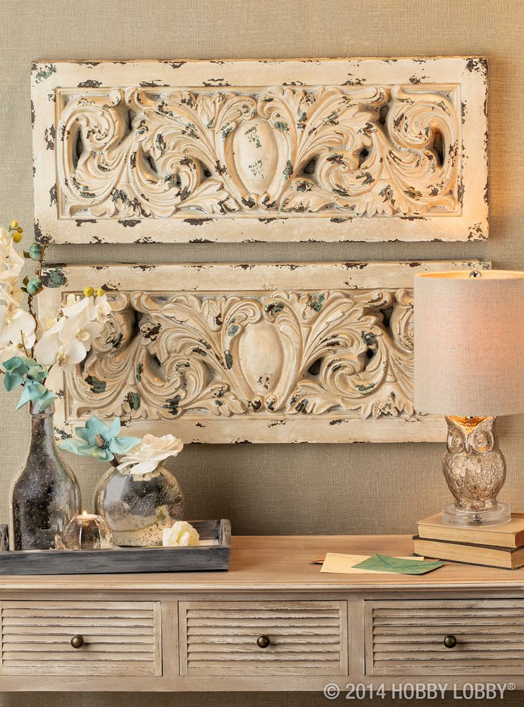Old World Charm Meets Modern~Day Style With These Home Accents..........