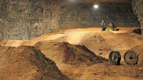 Colossal Cave Adventure #undergroundbikepark #louisvillekentucky #fivemilesofinterconnctedtrails