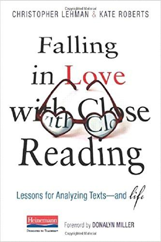 91 best books for the teacher professional development images falling in love with close reading lessons for analyzing texts and life fandeluxe Choice Image