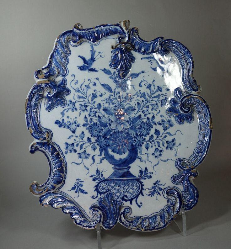 ANTIQUE DELFT PLATE ~ 18th century.
