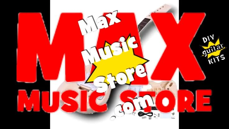 Max Music Store sells guitar kits!