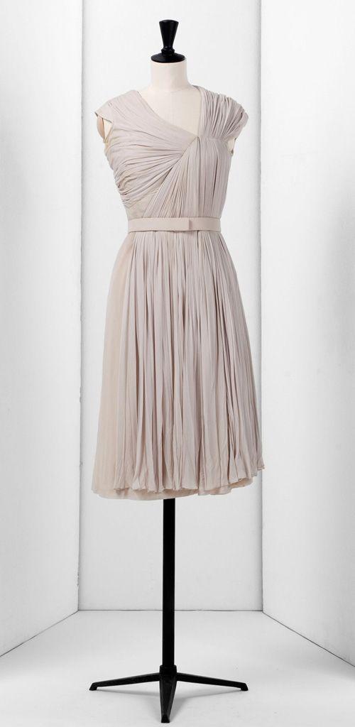 Effortless Madame Gres dress. So pretty.