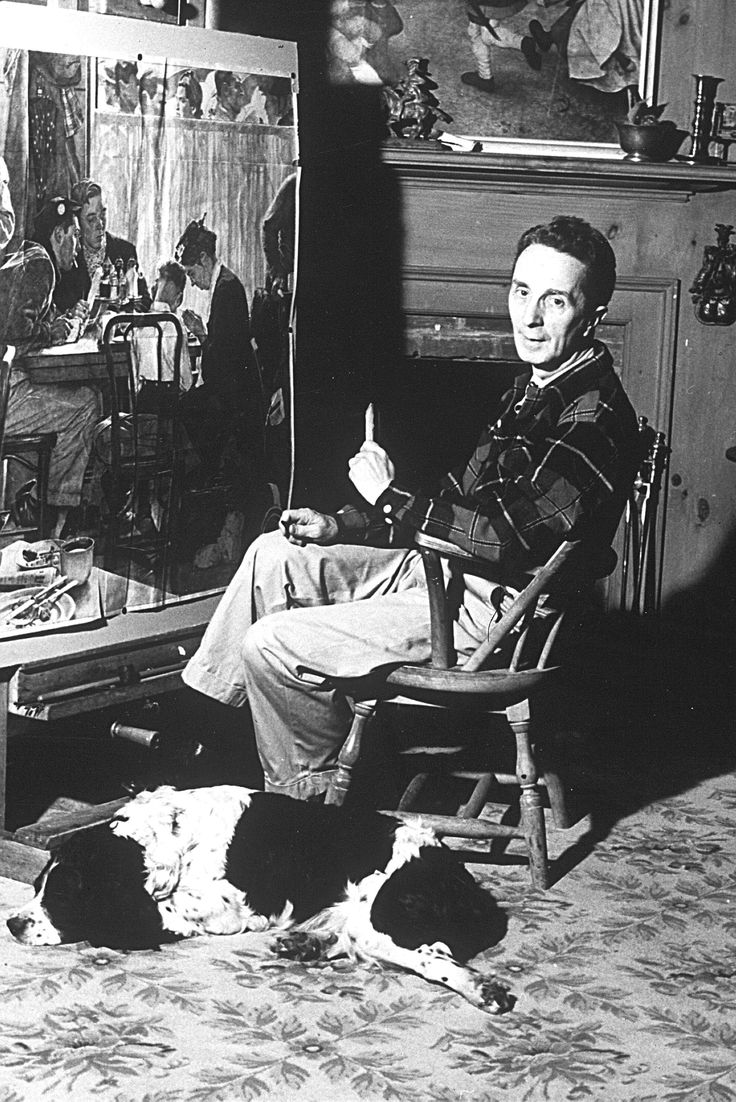 a biography of norman rockwell one of americas greatest illustrators The saturday evening post's most prolific artist and illustrator, norman perceval rockwell,  rockwell moved to the illustrators' unofficial colony in new rochelle,.