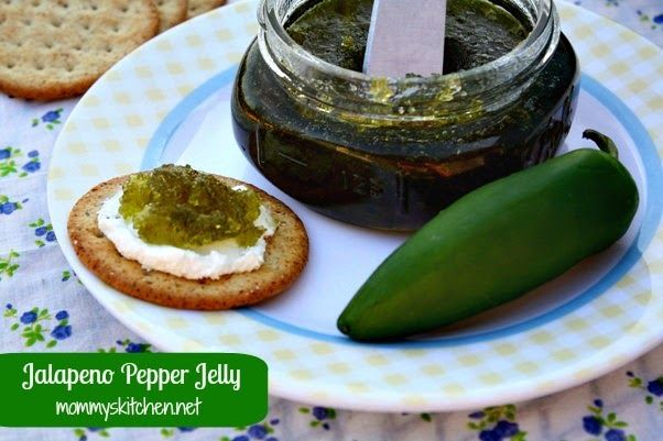 Mommy's Kitchen: Jalapeno Pepper Jelly {Preserving Summer Peppers}