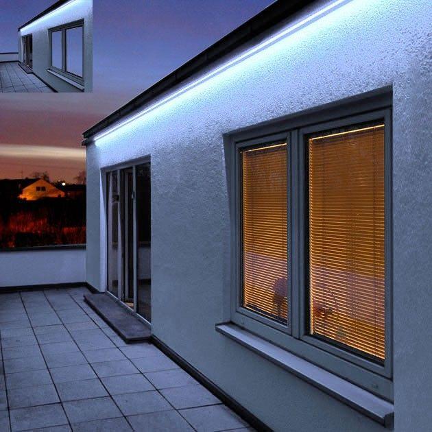Intalite 552307 LED Strip Outdoor 100 Pro Blue Ceiling, Wall U0026 Floor  Decorative Light