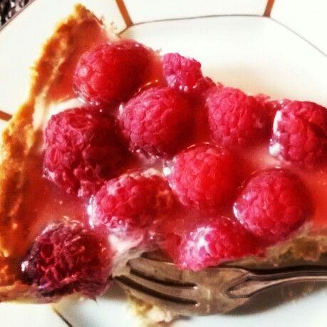 Tarta malinowa