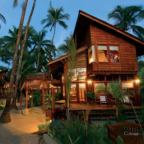 Ngapali Beach Resort in Myanmar  #Burma #Myanmar #Tour #ThreelandTravel