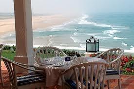 Un des plus beaux Hôtel à la croisée de l'Océan Atlantique et de la Mer Méditerrannée. Un Must #tanger #maroc