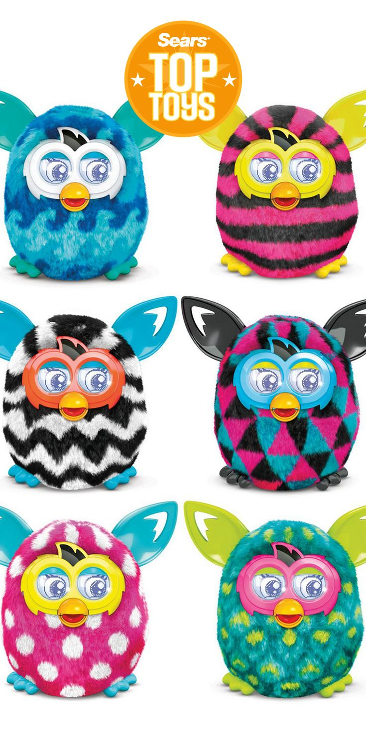 A Furby Boom in every color!    (almost every type.)