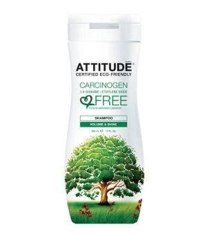 Sampon bio, volum si strălucire, 355 ml, Attitude - Sabedoria