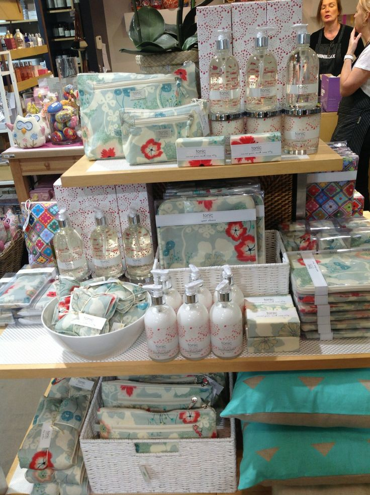 """tonic's Splash range in """"Lilly Pilly"""" and Signature range in """"Dreamscape Moon"""" spotted in Brighton, VIC!"""