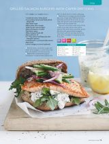 Grilled salmon burgers - Recipe Collection: Healthy Food Guide - 2016-07-16 : Page 79