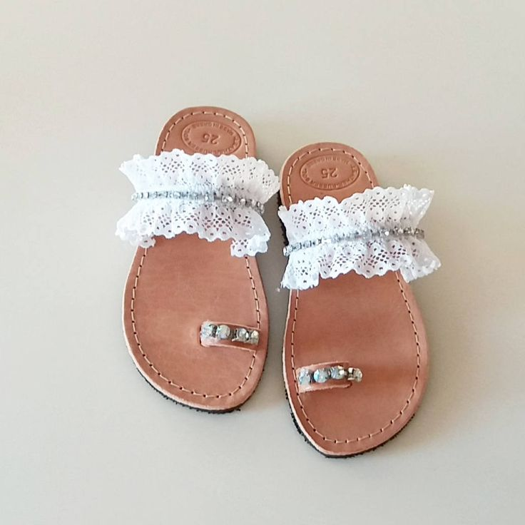 Christening Leather Sandals, White Handmade Sandals, Bridal Sandals, Wedding Leather Sandals, Bridesmaid Sandals by GlowHandmade on Etsy