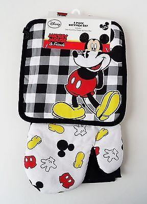 Disney - Mickey Mouse - Mickey Mouse Parts 3 Piece Kitchen Set