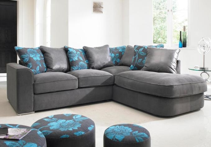 Furniture Village Annalise rhf corner group - boardwalk - sofa sets | corner sofas | leather