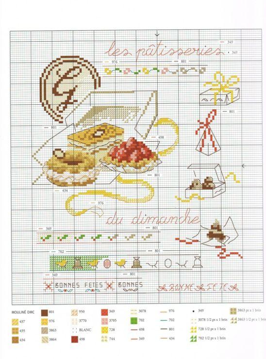 335 les meilleures images concernant cuisine point de - Cuisine et croix roussien ...