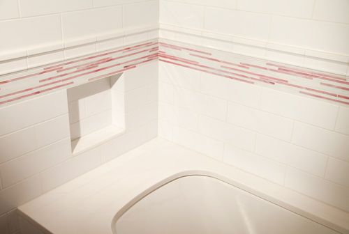 Bathroom Walls Nori Ceramic White Gloss 4 Quot X 12 Quot Tile