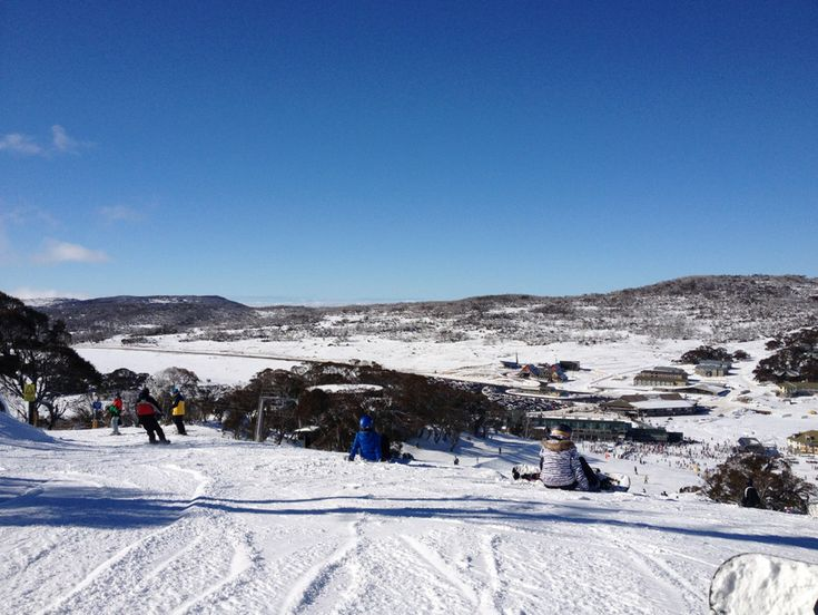 Loved the view when I got off the ski lift for this run on Front Valley || Perisher Blue, Perisher Valley