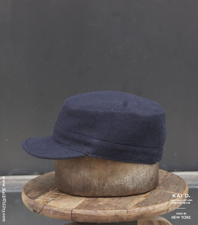 Linen Blend Engineer Hat