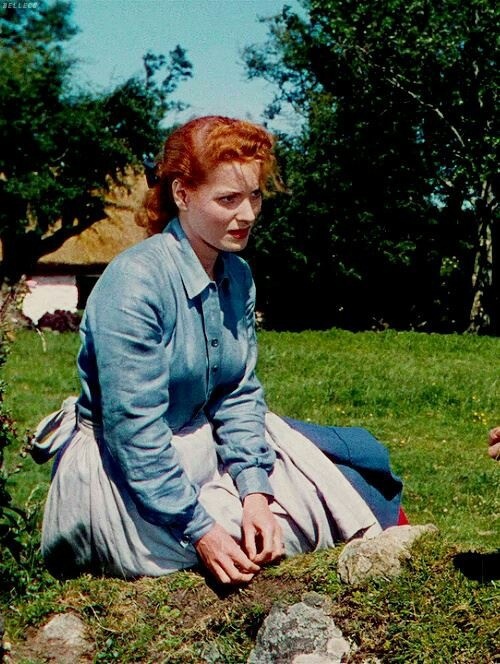 Maureen Ohara in The Quiet Man.